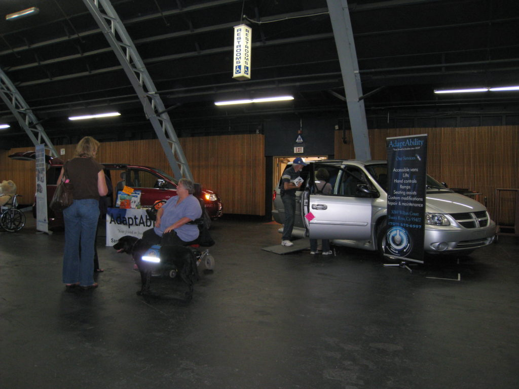 DSLC Assistive Technology Expo - cars