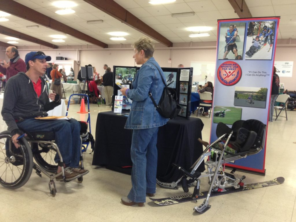 DSLC Assistive Technology Expo - disabled sports