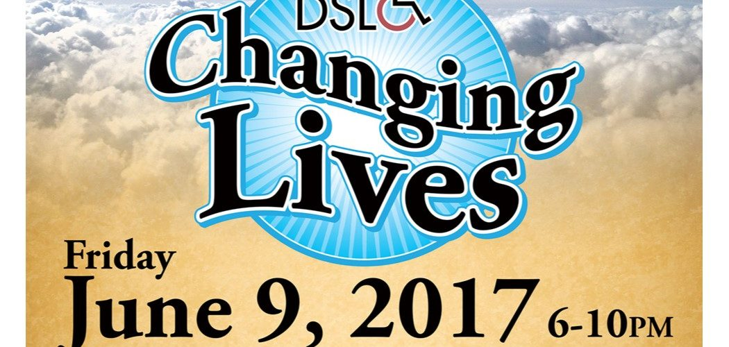 "Disability Services & Legal Center invites you to a fundraising event ""DSLC Changing Lives"" and to join our efforts in making a difference in our community."