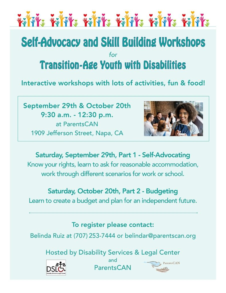 TAY workshop flyer