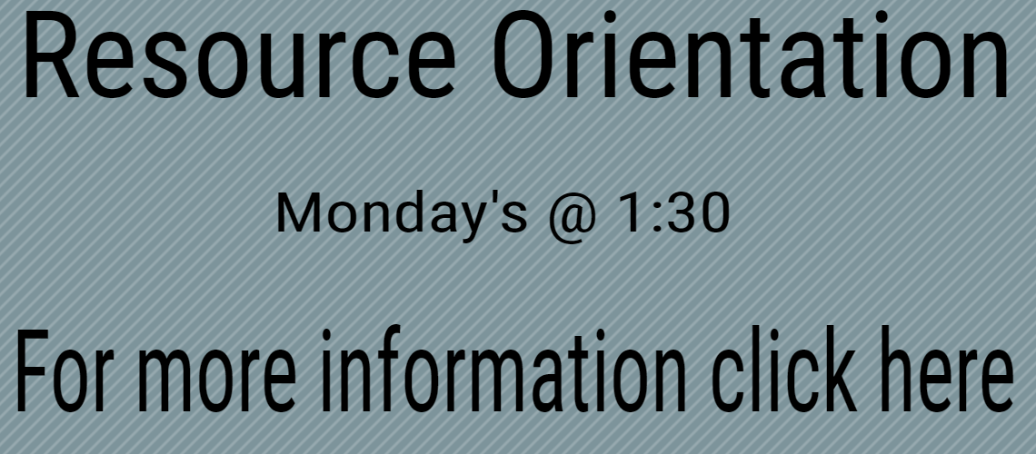 Resource Orientation