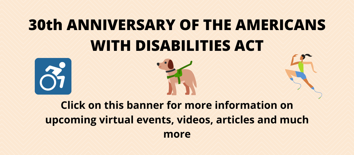 30th Anniversary of the American with Disabilities Act