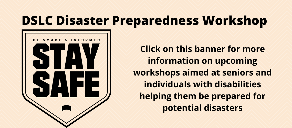 DSLC's Disaster Preparedness Workshop